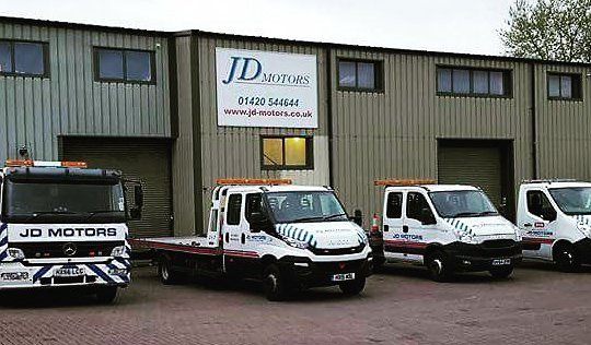 MOT, Services, Tyres and Recovery Services Alton | JD Motors